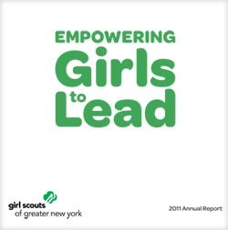Girl Scouts Annual Report 2011